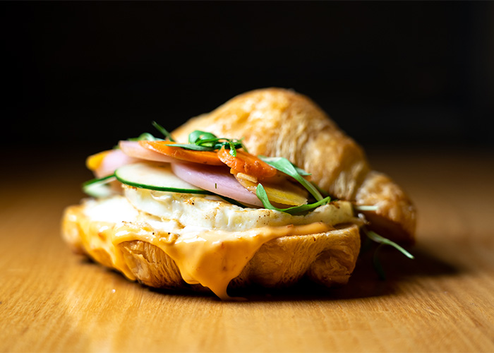 Banh Mi A Breakfast Sandwich