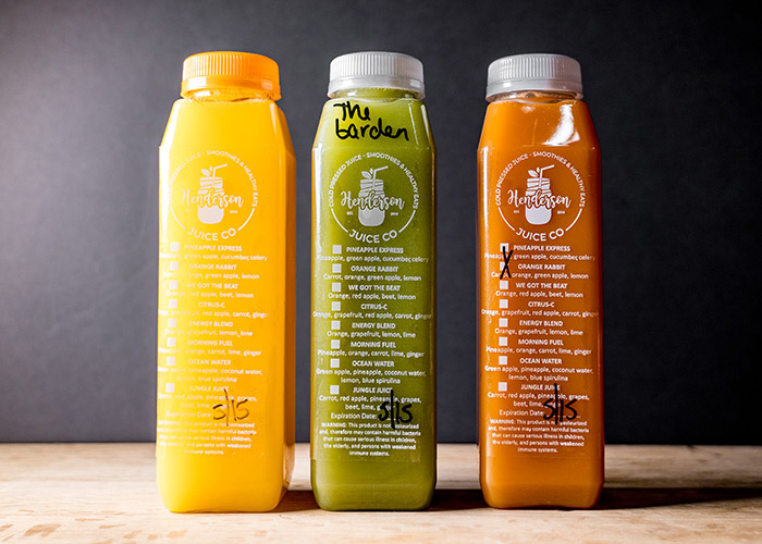 Group of Juice Co Juices